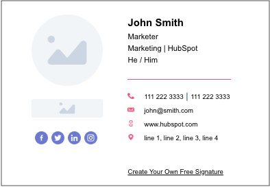 A Perfect Email Signature Sample for Everyone